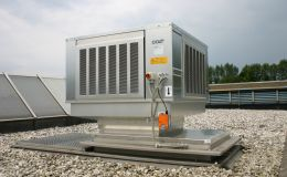 CoolStream S evaporative cooling system