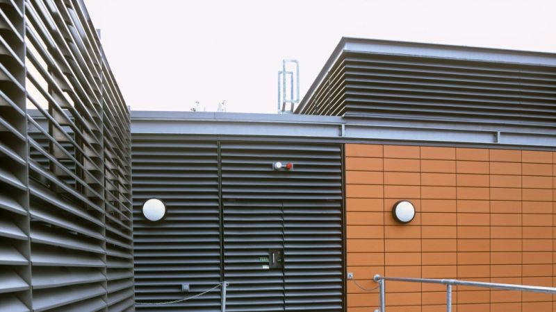 Weather Louvres For Waterproof Ventilation Colt Arabia