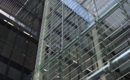 Shadoglass glass louvres